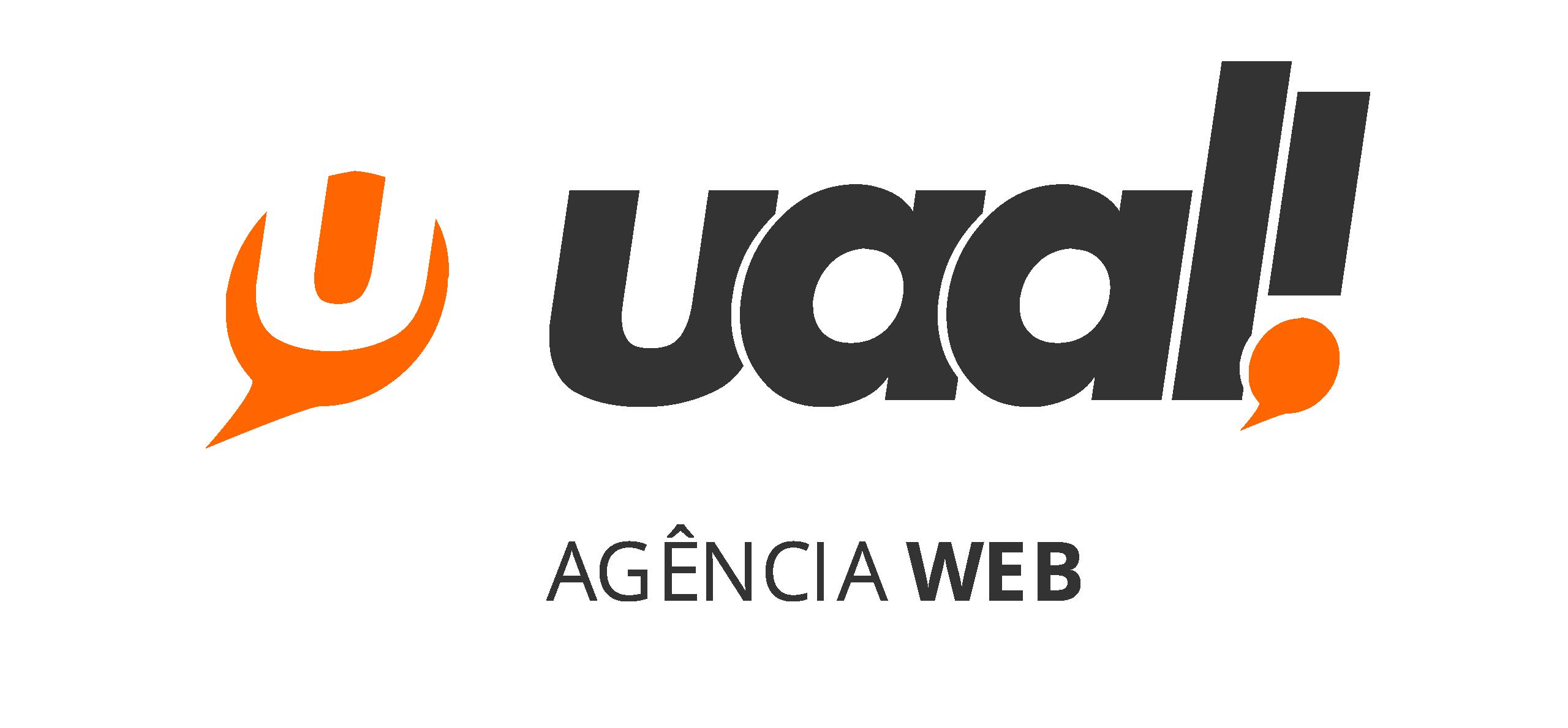 Logo uaal! ag�ncia web e cria��o de sites